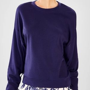 Fabletics Sadie Scrunched Sleeve Pullover